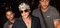 Shah Rukh Khan & family return from London