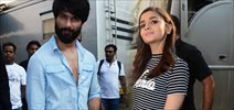 Shahid And Alia Snapped Promoting Shandaar At Mehboob Studio