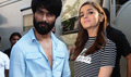 Shahid And Alia Snapped Promoting Shandaar At Mehboob Studio