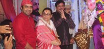 Shatrughan Sinha Visits Andhericha Raja Ganaesh