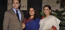 Vidya Balan & Imran Khan At Shayonti Roy Kapur's Art Exhib