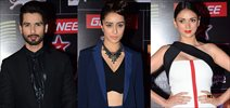 Shraddha, Aditi, Shahid at GIMA AWards