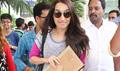 Shraddha Kapoor Returns From Baaghi Kerela Schedule