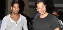 Sidharth, Dino & Nandita snapped at Lightbox