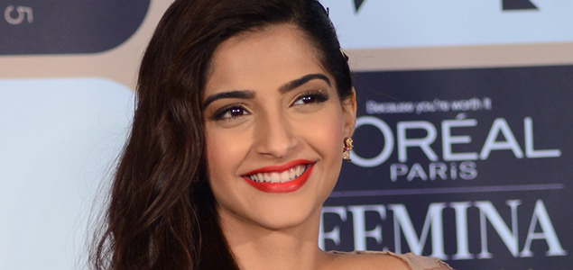 Sonam Kapoor at Lo'real Femina Womens Awards Announcement