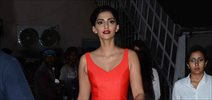 Sonam Kapoor snapped post Colgate ad shoot