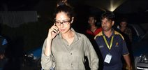 Sridevi Snapped in suburbs
