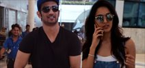 Sushant Singh Rajput And Kiara Arrive Post Dhoni Shoot In Ahmedabad