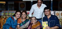 Sachin Pilgaonkar & Tinnu Anand at Susheela Pathak's Great Grandma's Kitchen Secret Book Launch