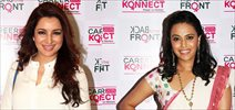 Swara Bhaskar & Tisca Chopra snapped at 'Back To The Front' event - Day 2