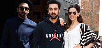 Ranveer Singh, Deepika And Ranbir At Tamasha Promotions