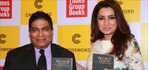 Tisca Chopra at Picture Perfect Book Launch