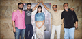 Vidhu Vinod Chopra and Ayushman Khurana at Titli special screening held at Lightbox