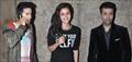Varun Dhawan, Alia Bhatt & Karan Johar watch 'Dil Dhadakne Do'