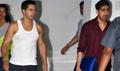 Varun Dhawan & Ayan Mukherjo Snapped at KJO's House