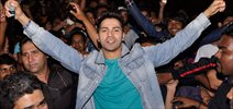 Varun Dhawan Meets His Fans At...