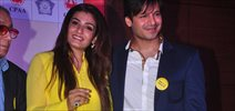 Vivek & Raveena At CPAA Anti-tabacco Police Campaign Launch