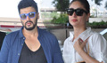 Arjun Kapoor And Kareena kapoor Depart For Dubai Ki And Ka Shoot