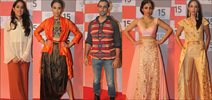 Soha, Swara And Kunal Kapoor At LFW 2015 Curtain Raiser