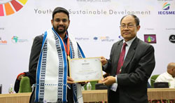1st World Youth Prize Awarded to Mr.Abdul Ghani Green Man of India - Pictures