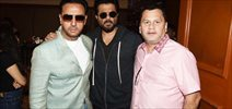 Anil Kapoor and Gulshan Grover at IIFA voting day openinig