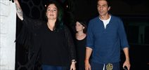 Arjun Rampal and Pooja Bhatt snapped at The Korner House