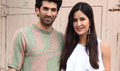 Aditya Roy Kapoor And Katrina Kaif At Fitoor Promotions