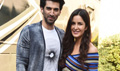 Aditya Roy Kapoor And Katrina Kaif Snapped At Fitoor Promotions
