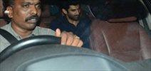 Aditya Roy Kapur snapped post dinner at Karan Johar house