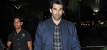 Aditya Roy Kapoor Snapped At Domestic Airport