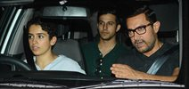 Aamir Khan dines out with Dangal girls in Bandra restaurant