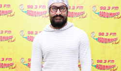 Aamir Khan promoting his film 'Dangal' on Radio Mirchi 98.3 FM - Pictures