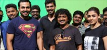 Karthi B'Day Celebration At Kashmora Shooting Spot