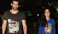 Aditya And Katrina Return From Fitoor Delhi Promotions