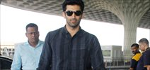 Aditya Roy Kapur snapped at the airport