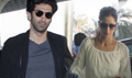 Aditya And Katrina Depart For Fitoor Delhi Promotions