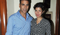 Akshay And Nimrit At Airlift Media Meet