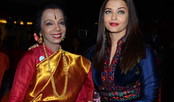 Aishwarya Rai Bachchan graces the 'International Dance Congress Meet' with her dance teacher Lata Surendra - Pictures