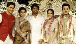 Akhil Akkineni Engagement - Pictures