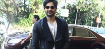 Ali Fazal Snapped At Domestic Airport