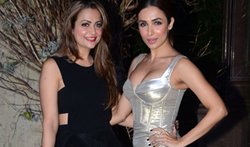 Amrita Arora and Malaika Arora Khan grace Manish Malhotra's 50th birthday bash hosted by Karan Johar - Pictures
