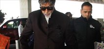 Amitabh Bachchan snapped at the airport