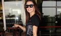 Amy Jackson snapped at the airport