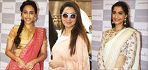 Sonam, Swara, Tisca and others at Anavila store launch in Bandra