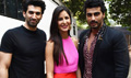 Arjun Kapoor Has Fun With Aditya And Katrina Kaif During Fitoor Promotions
