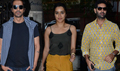 Arjun Rampal, Shraddha Kapoor & Purab Kohli snapped at 'Rock On!! 2'