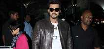 Arjun Kapoor Snapped At Domestic Airport