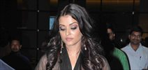 Aishwarya Rai Bachchan returns back from Delhi