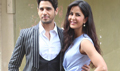 Sidharth and Katrina promote BBD on the sets of Voice of India Kids