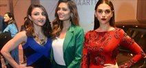 Soha, Esha And Aditi Grace BMW Launch At Art Fair